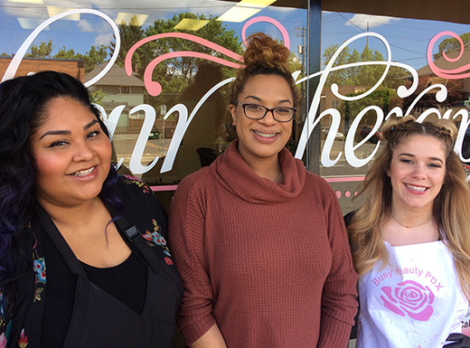 Lani Freelander opens Hair Therapy Salon on Northeast Broadway