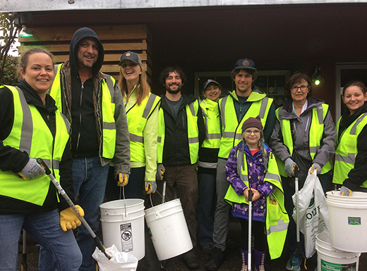 Beaumont brewhouse coordinates community cleanup