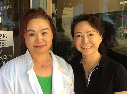 Li sisters turn lights back on at Chin's Kitchen in Hollywood
