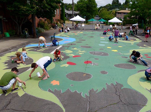 Market seeks help to repaint Hollywood Garden Mural