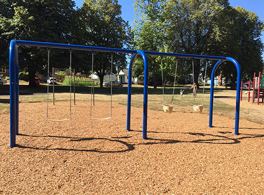Swing installation complete in Wellington Park
