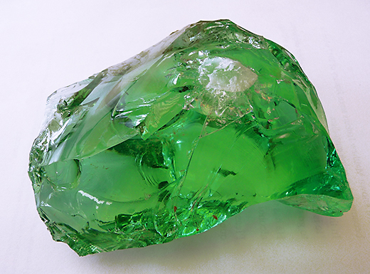 Mysterious green glass unearthed in Westminster lot