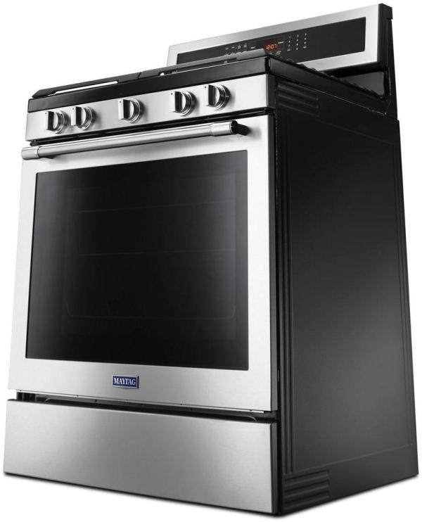 5.8 Cu. Ft. Self-Cleaning Freestanding Gas Convection Range Fingerprint Resistant Stainless Steel