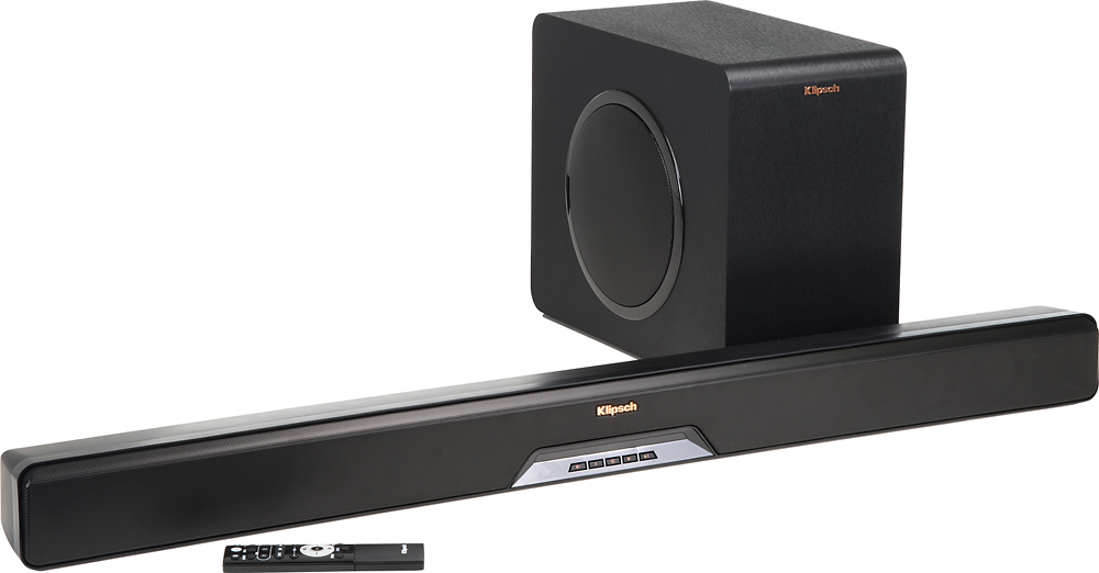 Reference Series 2 1-Channel Soundbar System with 8