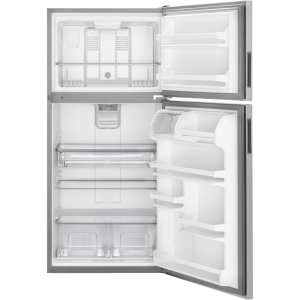 18.1 Cu. Ft. Top-Freezer Refrigerator Stainless steel