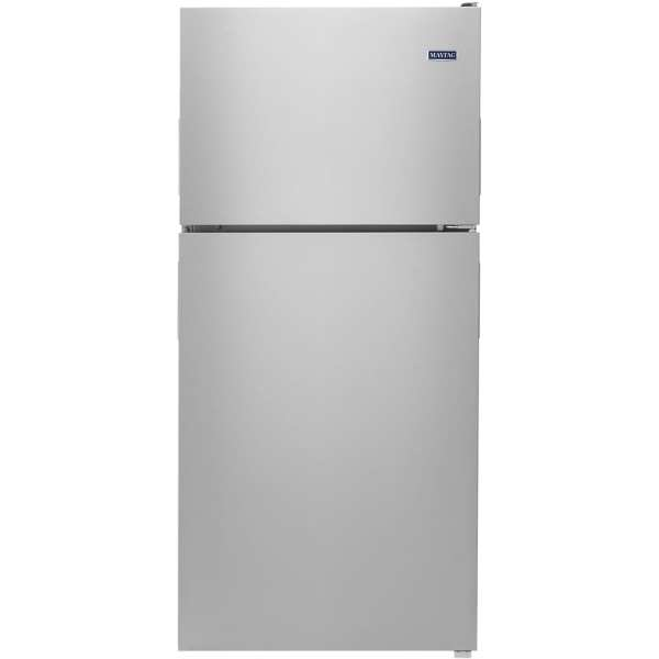 18.1 Cu. Ft. Top-Freezer Refrigerator Monochromatic stainless steel