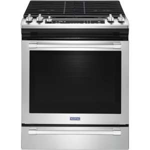 5.8 Cu. Ft. Self-Cleaning Slide-In Gas Convection Range Fingerprint Resistant Stainless Steel