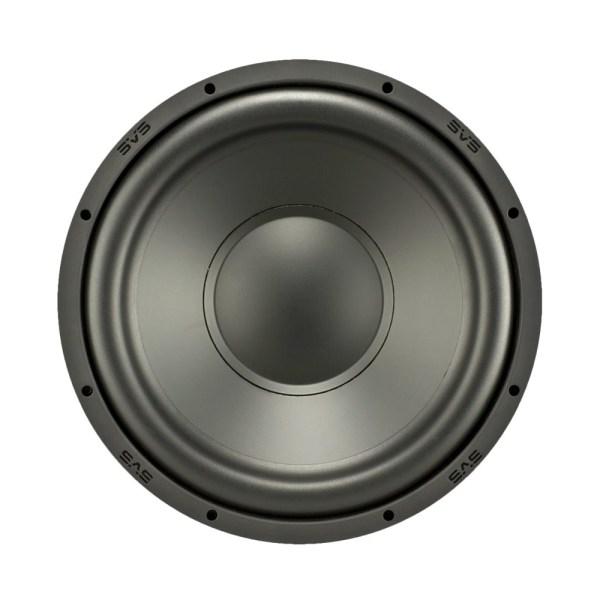 "12"" 300W Powered Subwoofer Premium black ash"