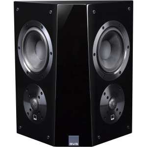 "Ultra Dual 5-1/2"" Passive 2-Way Surround Channel Speaker (Each) Gloss piano black"
