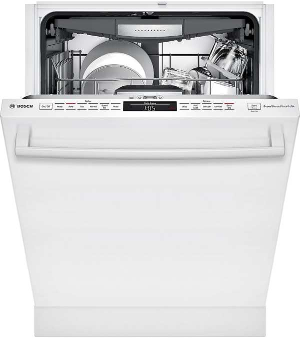 """800 Series 24"""" Bar Handle Dishwasher with Stainless Steel Tub"""