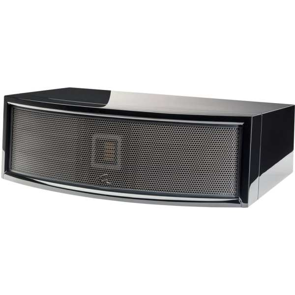 "ElectroMotion Dual 5-1/4"" Passive 3-Way Center-Channel Speaker Gloss black"