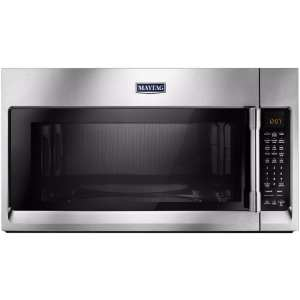 1.9 Cu. Ft. Convection Over-the-Range Microwave with Sensor Cooking Stainless steel