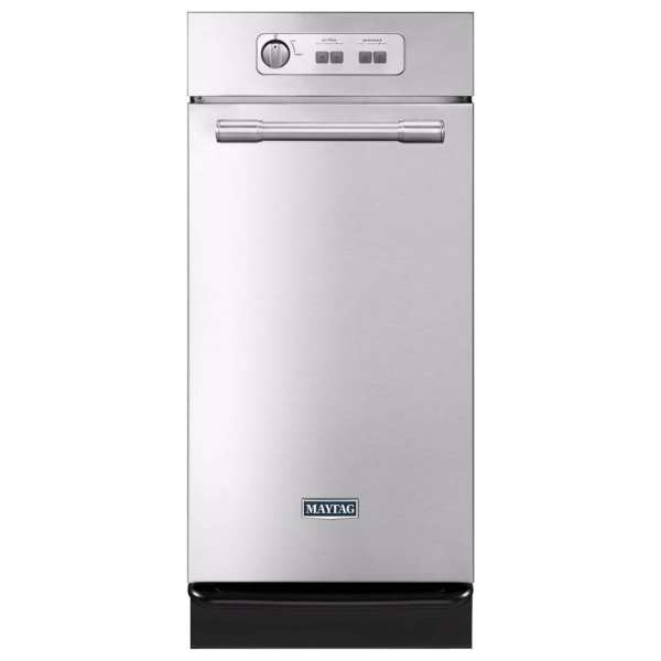 1.4 Cu. Ft. Built-in Trash Compactor Stainless steel
