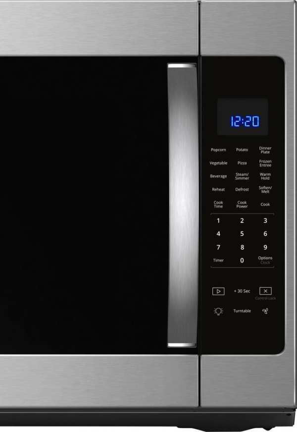 2.1 Cu. Ft. Over-the-Range Microwave with Sensor Cooking Fingerprint Resistant Stainless Steel