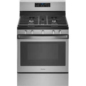 5.0 Cu. Ft. Self-Cleaning Freestanding Gas Range Fingerprint Resistant Stainless Steel