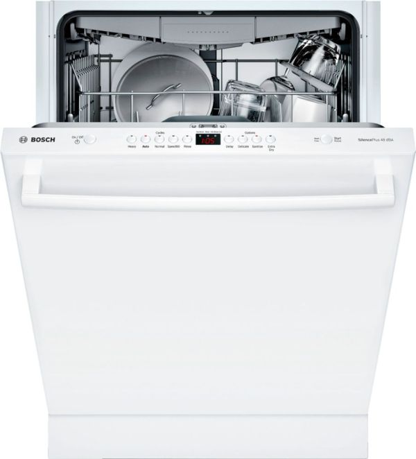 "24"" Front Control Built-In Dishwasher with Stainless Steel Tub"