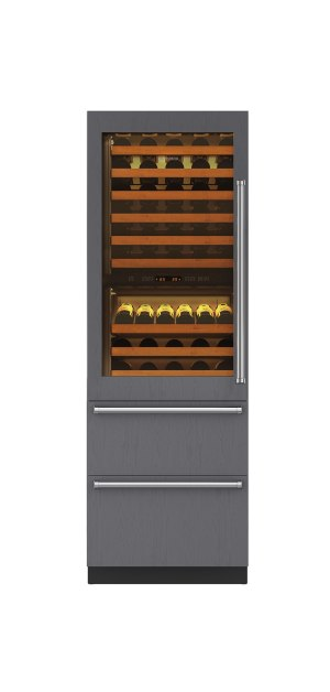 /sub-zero/wine-cooler/27-inch-integrated-wine-storage-refrigerator-drawers-panel-ready