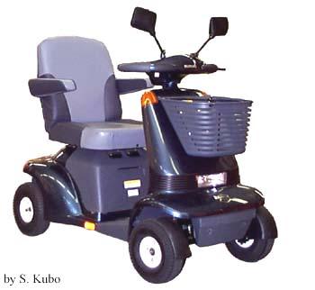 電動車いすと電動三・四輪車は別物