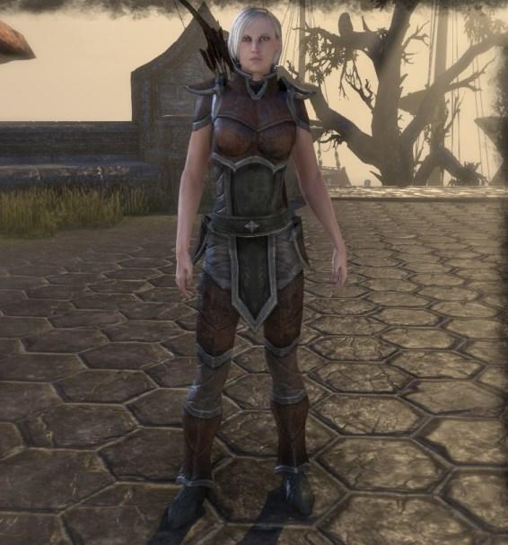 Vanguard disguise - Stonefalls quest