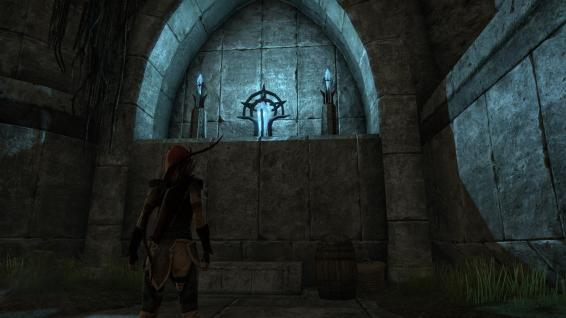 Welkynd Stones, there are many Ayleid ruins in Auridon, my favouritest places in Oblivion