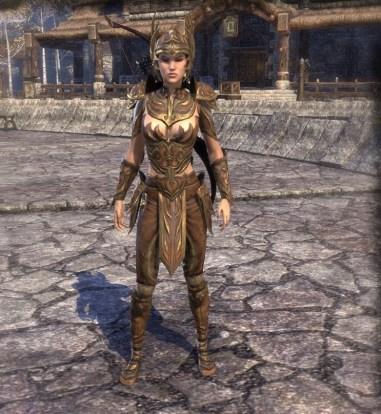 Golden Saint costume