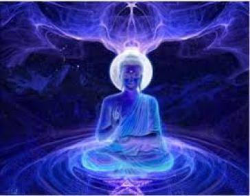 effulgent Blue Buddha