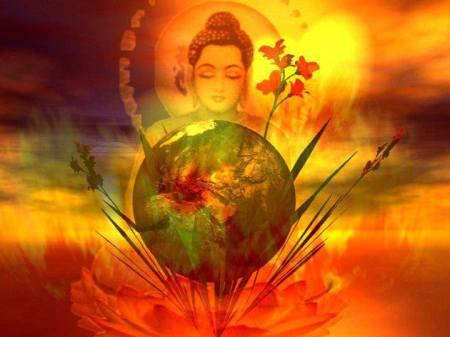 buddha light of earth