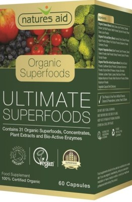 NATURES AID ORGANIC ULTIMATE SUPERFOOD 60KAP