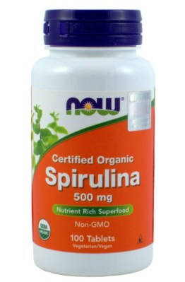 NOW FOODS SPIRULINA 500  MG 100 TAB