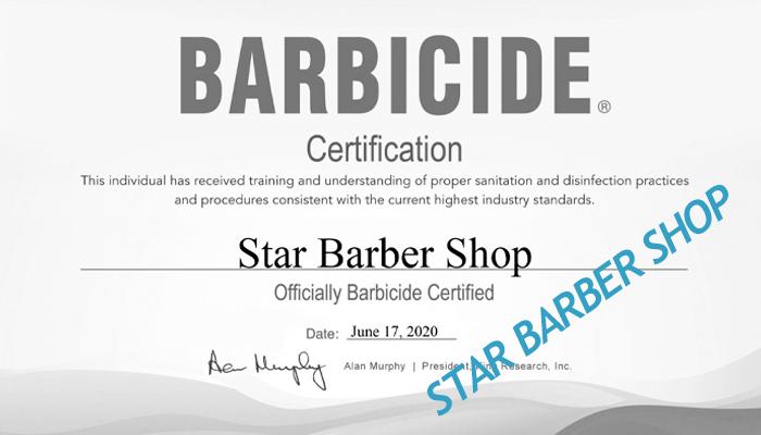 Barber checklist