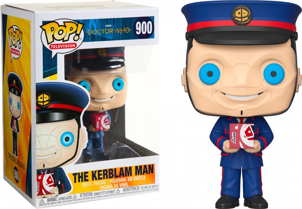 Doctor Who Television The Kerblam Man #900 Funko POP Vinyl Figure