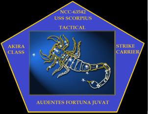 USS Scorpious patch