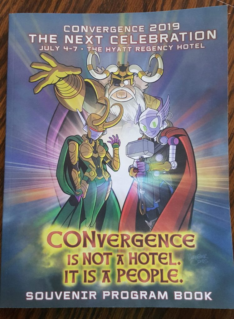 Convergence program book Cover