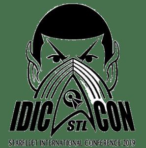 Idic Con St louis / Starfleet IC2019 logo