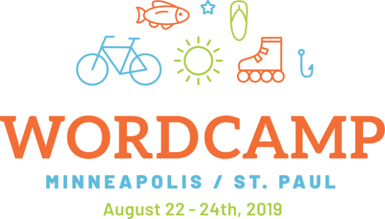 WordCamp MSP 2019 Logo