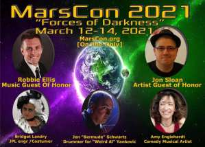 Marscon 2021 Online Logo