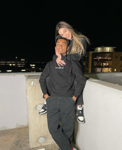 Paeka Campos and Boyfriend