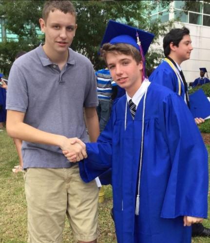 Karl Jacobs graduation