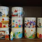 Ways To Display Mugs By Muggers Starbucks City Mugs