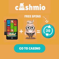 Cashmio Starburst Slot Free Spins