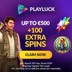 PlayLuck Casino welcome offer