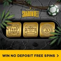 Win up to 20 No Deposit Starburst Spins plus a Welcome Pachage of 100% up to €100 and an extra 100 Spins at Shadowbet Casino