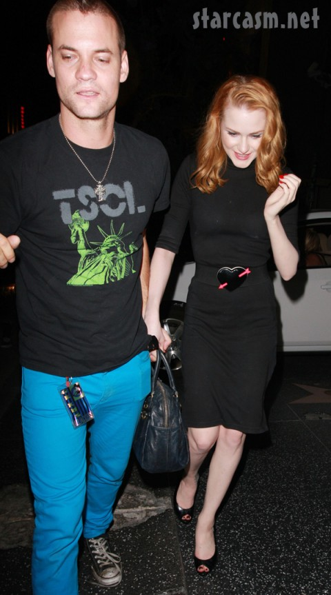 Evan Rachel Wood Steps Out With Her New Man Shane West