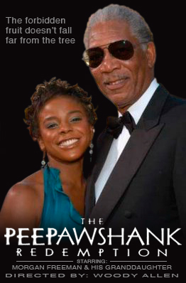 The PeePawshank Redemption starring Morgan Freeman and E'Dena Hines