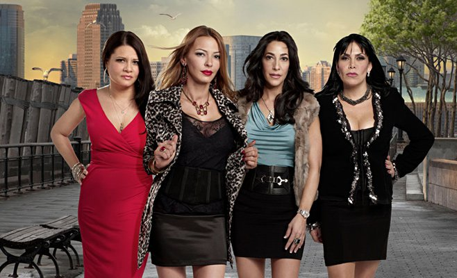 Karen Gravano, Drita D'avanzo, Carla Facciolo and Renee Graziano of Mob Wives