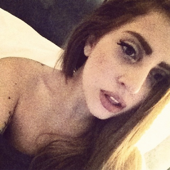 PHOTOS Do You Like Lady Gagas New Brown Hair
