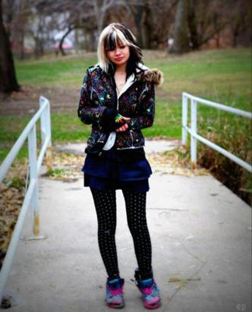 Youtube Chick Bank Robber Hannah Sabata photo