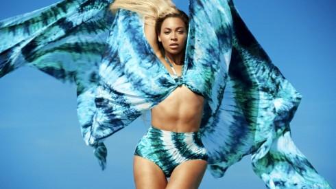 Beyonce H&M swimwear