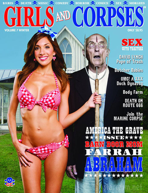 Farrah Abraham Girls and Corpses magazine cover