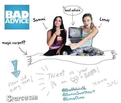 Sammi Giancola Bad Advice Youtube show